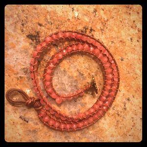 Jewelry - Handmade Beaded Wrap Bracelet